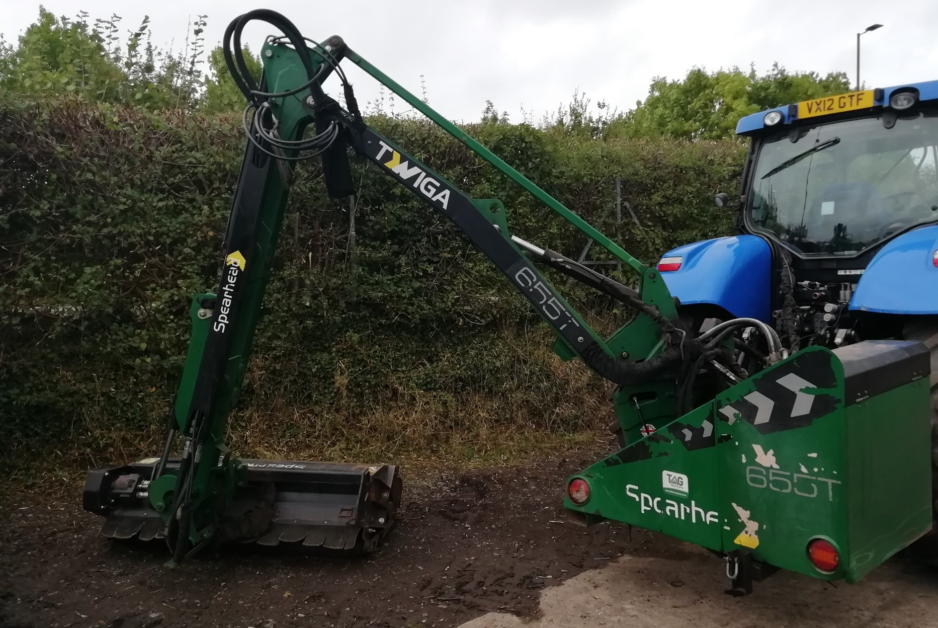 SPEARHEAD MACHINERY LTD GE CUTTER